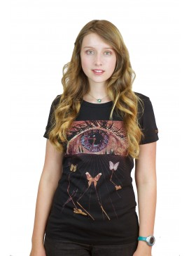 LADIES' FIRST EDITION THE EYE OF SURREALISTIC TIME SHIRT